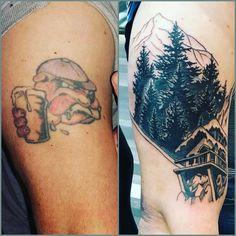Dans Tattoo cover up, tattoo design, tattoo ideas bulldog cover up  #tattoocoverup #tattooartist  #tattoodesign #vidalocatattoo #tattoos #tattooideas #femaletattoo #maletattoo #blackandgrey #brightandbold #ink #inked #tattoolife#girlswithtattoos #guyswithtattoos
