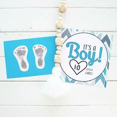 My boys footprints at one day old! Thanks @mellyb2424, another thing you did for us that was above and beyond and we will treasure forever 💙  Four different designs of unique Premature Baby Milestone Cards available online: www.miraclemumma.com.au