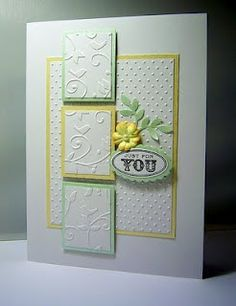 Love the embossing !!