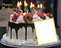 Birthday Card Gif, Happy Birthday Ballons, Happy Birthday Greetings Friends, Happy Birthday Wishes Photos, Birthday Photo Frame, Happy Birthday Frame, Happy Birthday Cake Images, Birthday Frames, Happy Birthday Candles