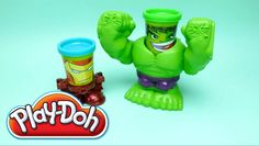Play-Doh Smashdown Hulk Featuring Marvel Can Heads Playset