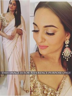 Thankar Light Pink Multy Work Georgette Bollywood Designer Saree - Buy Online in India for prices starting at Rs. 1049 on Shimply.com
