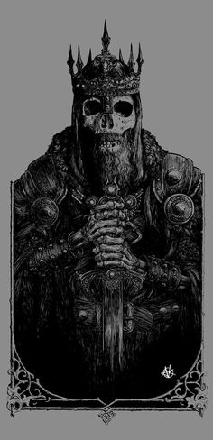 Dead King by Vance Kelly | Art | Pinterest | King, Medieval and Knight