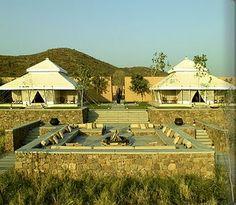 Aman Resorts promoting their Aman-i-Khas wilderness camp in Rajasthan, India