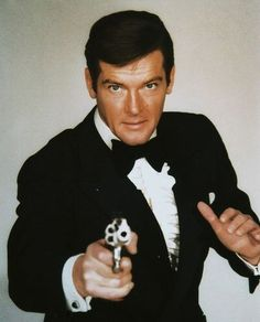 James Bond (Roger Moore is my favourite Bond, then Pierce Brosnan, Sean Connery, Daniel Craig, Timothy Dalton and last George Lazenby)