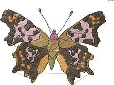 Butterfly Spots Embroidery Design | AnnTheGran