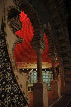 Sintra  Palau Nacional de Sintra  interior