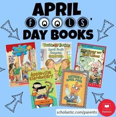 Celebrate April Fools' Day with one of these funny books.