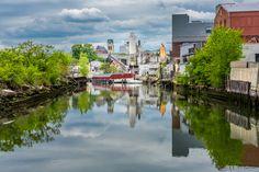IT'S WHAT LIES BENEATH - Composition Tuesday #PhotoOfTheDay #Gowanus #Brooklyn #NewYork #StillToxic #GowanusCanal #Waterways #superfund #streetphotography #Photography #2016 #Art #ErikMcGregor   © Erik McGregor - erikrivas@hotmail.com - 917-225-8963