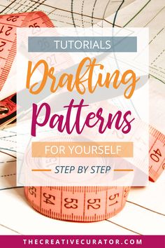 FREE Pattern Drafting Tutorials FREE Pattern Drafting Tutorials,Sewing Pattern Drafting Learn how to draft your own sewing patterns with these pattern making basics tutorials! With step by step pattern drafting tutorials, you'll learn how. Easy Sewing Projects, Sewing Projects For Beginners, Sewing Hacks, Sewing Tips, Pattern Drafting Tutorials, Sewing Tutorials, Dress Tutorials, Pattern Cutting, Pattern Making