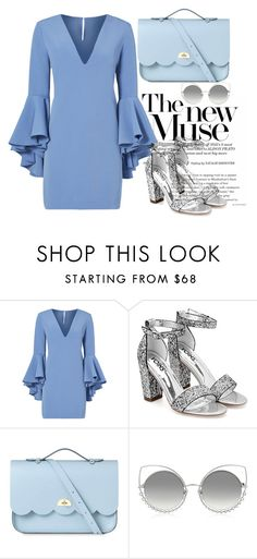 """""""Untitled #411"""" by tahmazovarzu ❤ liked on Polyvore featuring Milly, The Cambridge Satchel Company and Marc Jacobs"""