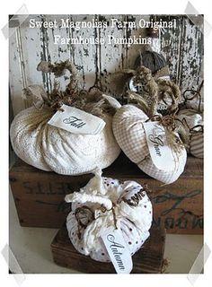 Farmhouse pumpkins (from Sweet Magnolias Farm)