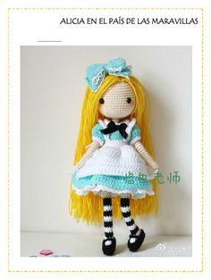 Muñeco Amigurumi Love Crochet, Free Pattern, Macrame, Japanese, Album, Dolls, Christmas Ornaments, Holiday Decor, Crafts