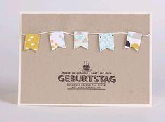 Geburtstagskarte von Stempeldorf auf DaWanda.com