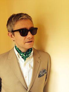 Martin Freeman; nailing the cravat