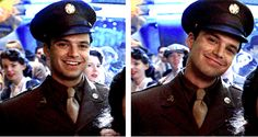 Bucky Barnes (Sebastian Stan) LOOK HOW YOUNG AND HAPPY AND INNOCENT HE IS!! *CRIES*