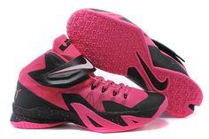 e10f087509c Nike Zoom LeBron Soldier 8 Think Pink Black White