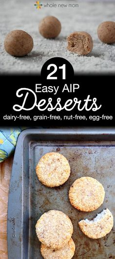 Having to go on a special diet like the autoimmune paleo protocol can be VERY daunting! But – you can still enjoy plenty of AIP desserts without having to spend extra time in the kitchen. Here's 21 dairy-free, grain-free, gluten-free, nut-free, egg-free desserts that are autoimmune protocol compliant – and super easy to make!