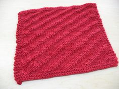 Ravelry: 2009 Afghan: The February Square pattern by Lorena Haldeman Afghan Rugs, Double Knitting, Washing Clothes, Hand Towels, Stitch Patterns, Overalls, February, Quilts, Blanket