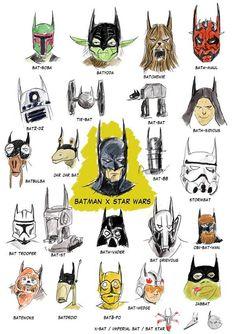 batman/star wars