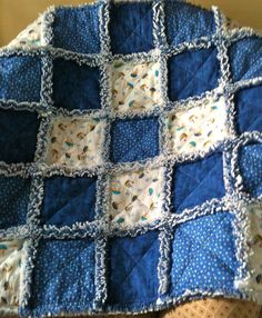 ZeedleBeez: How I make a Rag Quilt - Part I