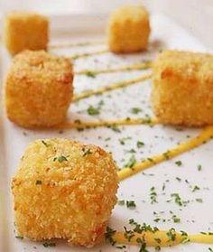 Crispy Cheese cubes   Easy recipes.