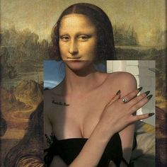 art surrealista [New] The 10 Best Home Decor (with Pictures) - . Bad Girl Aesthetic, Aesthetic Photo, Aesthetic Art, Aesthetic Pictures, Mona Lisa, Aesthetic Pastel Wallpaper, Aesthetic Wallpapers, Monalisa Wallpaper, Modern Baroque