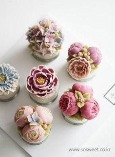 [앙금심화 2주차]화요반 미니 앙금플라워떡케이크입니다~^^ : 네이버 블로그