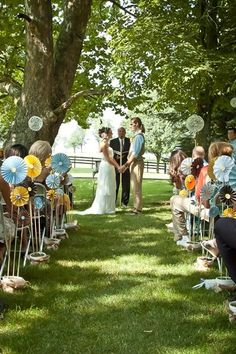 Outdoor Ceremony Decor Ideas  Wedding Ceremony Photos on WeddingWire wedding-ideas