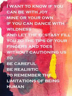 The Invitation Oriah Mountain Dreamer Poem - Invitation Templates
