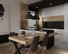Aranżacje wnętrz - Jadalnia: apartament mokotów 90m2 - Jadalnia, styl nowoczesny - Grafika i Projekt architektura wnętrz. Przeglądaj, dodawaj i zapisuj najlepsze zdjęcia, pomysły i inspiracje designerskie. W bazie mamy już prawie milion fotografii!