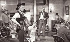 """""""The Man Who Shot Liberty Valance"""" John Ford's last great western, with Lee Marvin, James Stewart and John Wayne. Trailers, Leadville Colorado, Trailer Peliculas, Lee Marvin, James Drury, Western Comics, John Ford, War Comics, Planet Hollywood"""