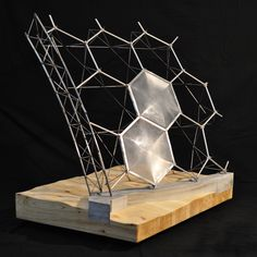 Structural Model: The Eden Project by Kyle Schumann, via Behance