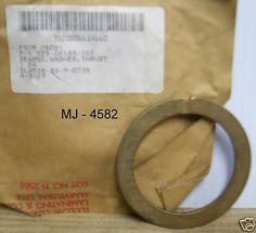 Thrust Bearing Washer - P/N: 029-06183-000 (NOS)  #Unknown