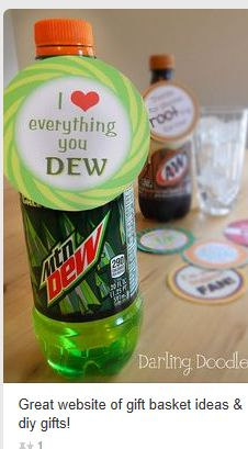Mountain Dew message for someone you love
