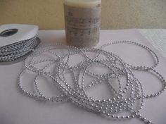 Silver Pearls 2mm by ShoppeLaFluer on Etsy, $3.00