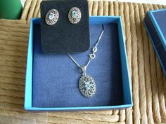 Vintage 925 sterling silver and marcasite by Andraliz on Etsy, $135.00