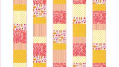 simple quilt patterns using squares - Google Search