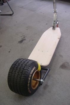fat tire kick scooter