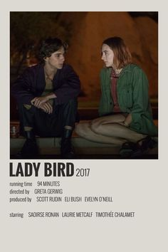 Alternative Minimalist Movie/Show Polaroid Poster - Lady Bird - Films - - Iconic Movie Posters, Minimal Movie Posters, Minimal Poster, Movie Poster Art, Poster Wall, Movie Collage, Poster Series, Poster Poster, Iconic Movies