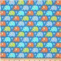 Michael Miller Baby Flannel Zoo Littles -It's a Boy Thing- Boyx