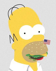 Homeburger Simpson