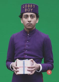 Grand Budapest Hotel, I laughed so hard. I love this movie.