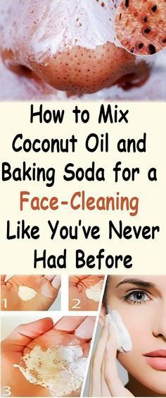How to Mix Coconut Oil and Baking Soda for a Face-Cleaning Like You've Never Had Before