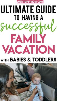 Family vacations can get harder once you have kids. Take these tips on traveling with babies and toddlers so you can be prepared and have the best time. Traveling With Baby, Travel With Kids, Family Travel, Family Vacations, Baby Travel, Toddler Travel, Second Baby, Baby Hacks, Baby Tips