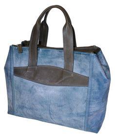 d7f0a0378618 Terrida Blue Bridle Leather Handbag GH1122 £270.00