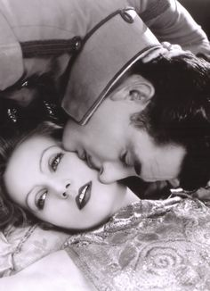 "Greta Garbo, John Gilbert - ""Flesh and the Devil"""