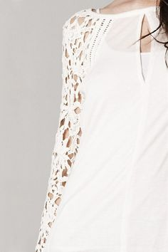 Crochet Elana Top | Awesome Selection of Chic Fashion Jewelry | Emma Stine Limited