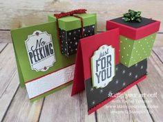 Kombi aus Karte und Box - eine Idee samt Anleitung auf