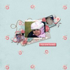 Pictures of my daughter.  Kit and template used:  SAS Designs' Showers of Kisses available at http://www.mscraps.com/shop/sas/?treemenu=y